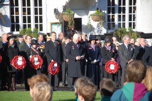 Remembrance Service November 2013 Haslemere