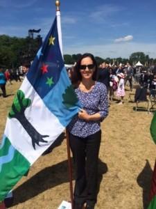 Magna Carta St Catherine's Flag