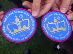 Longest Reigning Monarch Girl Guiding badge