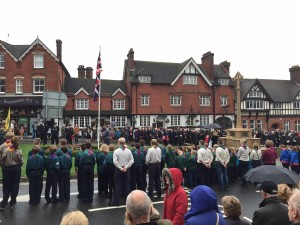 Remembrance Service November 2015 Haslemere