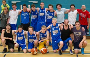 Members of Haslemere Basketball Club