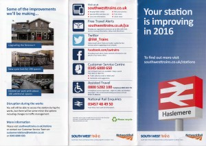 South West Trains Leaflet