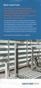 SWT Cycle Hub Leaflet