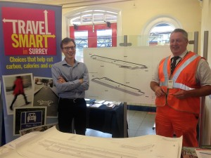 SWT Travel event at the station